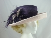 Jacques Vert Pink and Purple Occasion Hat